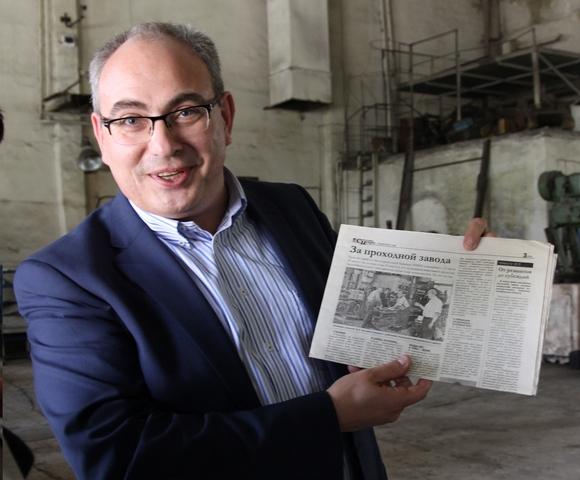 Обращаясь к первой публикации в нашей газете, генеральный директор В. Киселёв рассказывает, чем живет завод сегодня