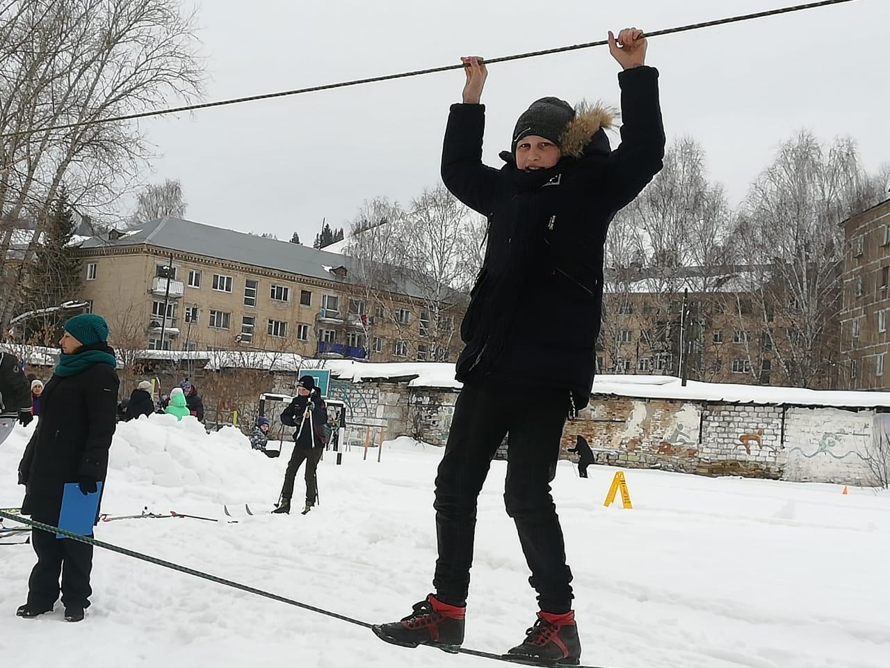 Школьники Миньяра приняли участие в зимнем многоборье