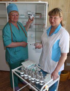 Н. Беленкова (слева) и Е. Гайнетдинова