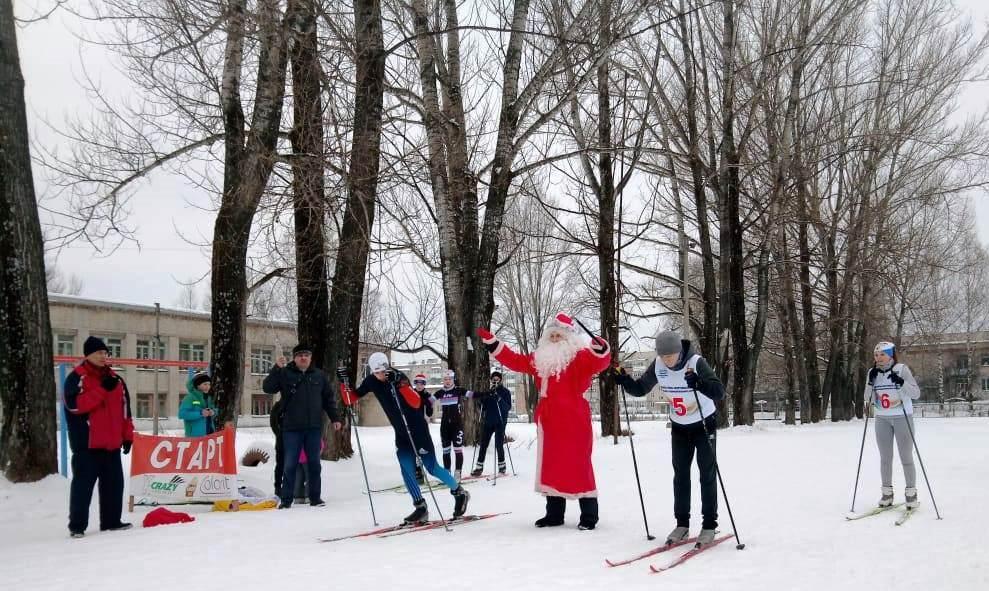 В Аше юные лыжники приняли участие в традиционном забеге