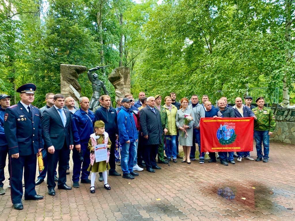 Ветеранов боевых действий наградили памятными медалями